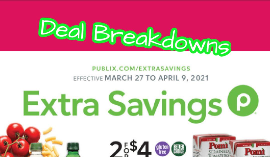 Best Deals of the Publix Extra Savings Flyer 3/27 -4/9