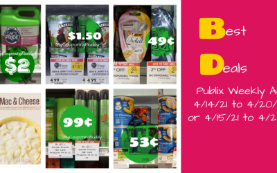 Best Deals Publix Weekly Ad 4/14/21 to 4/20/21 or 4/15/21 to 4/21/21
