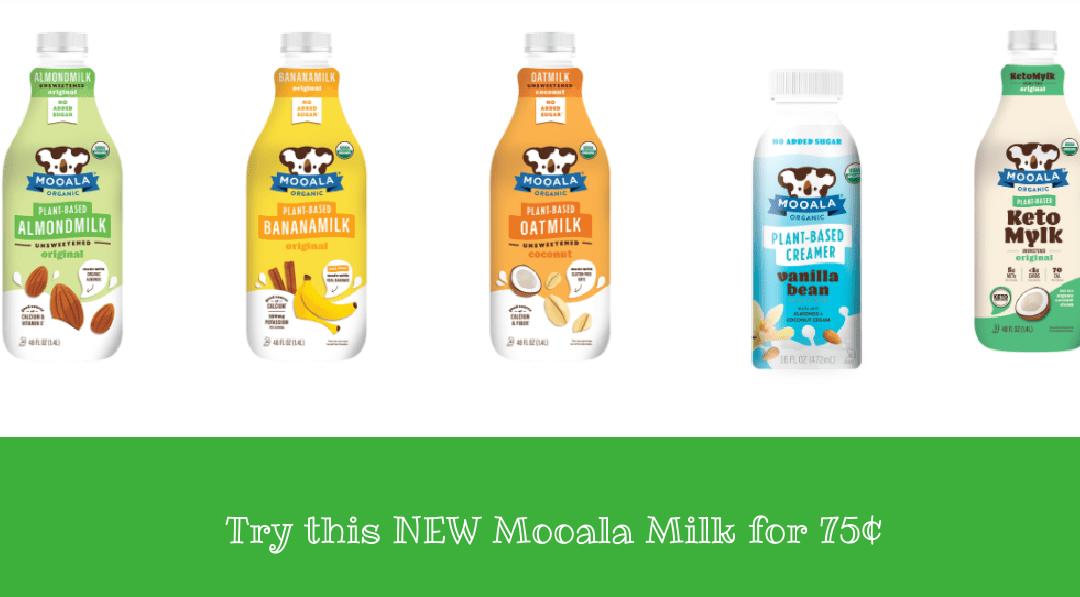 Mooala Milk 75¢ after Ibotta & Coupon at Publix