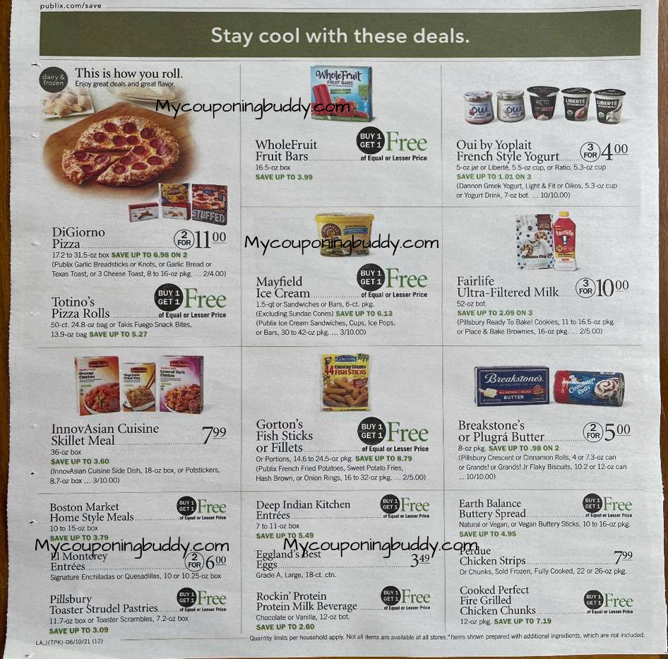 Publix Weekly Ad Sale 6/9/21 - 6/15/21 OR 6/10 - 6/16/21 Early Preview