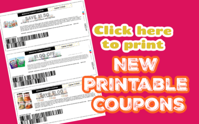 New Month New Printable Coupons ~ Extra Gum, Borden Cheese & More