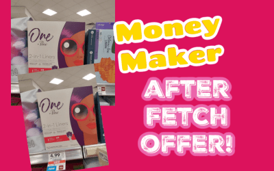 FREE One by Poise after coupon & Fetch offer at Publix