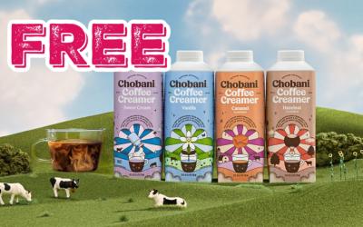 FREE Chobani Coffee Rebate