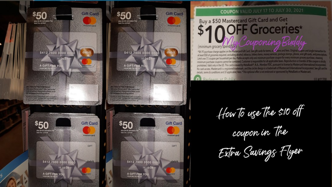 $10 off Groceries when you buy $50 at Publix