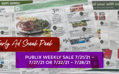 Publix Weekly Sale 7/21/21 – 7/27/21 or 7/22/21 – 7/28/21 Early Preview