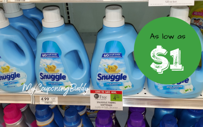 Snuggle Fabric Softener as low as $1 at Publix