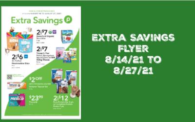 Publix Extra Savings Flyer 8/14/21 – 8/27/21