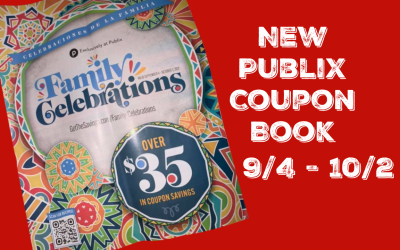 Publix Family Celebrations Coupon  Book 9/4/21 to 10/2/21