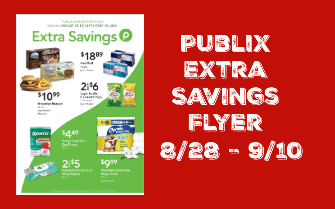 Publix Extra Savings Flyer 8/28/21 to 9/10/21