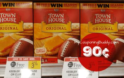 Townhouse Crackers 90¢ at Publix
