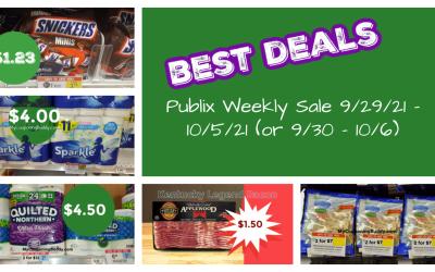 Best Deals ~   Publix Weekly Sale 9/29/21 – 10/5/21 (or 9/30 – 10/6)