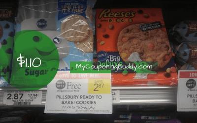 Pillsbury Cookies $1.32 at Publix