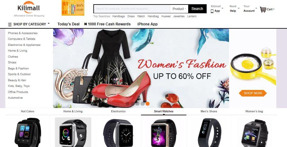 Kilimall Official Website