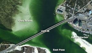 Destin Island Florida Map   Wiring Library