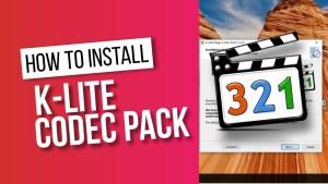 K-Lite Mega Codec Pack 14.304