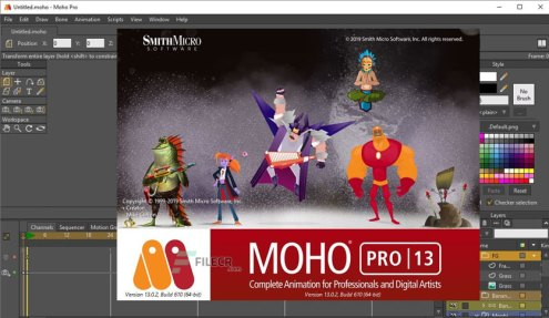 Smith Micro Moho Pro 13.5 Crack With Serial Key Free Download