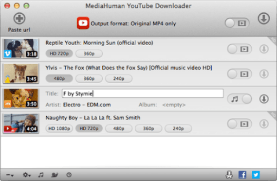 MediaHuman YouTube Downloader 3.9.9.5 Crack With License Key Latest