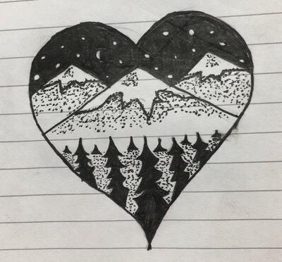 Heart scenery