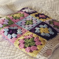 Granny Square Hot Water Bottle Cover | MyCraftyMusings