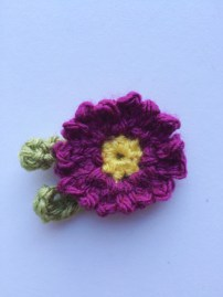 Crochet Daisy (Pattern by Attic24) | MyCraftyMusings