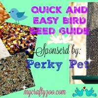 Quick Birdseed Guide with Squirrel Proof Perky Pet Feeders