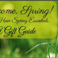 2018 Spring Gift Guide