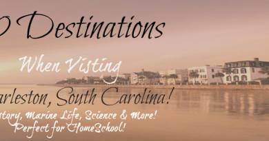 10 Destinations for Homeschool and Learning in Charleston SC