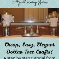 Apothecary Jars: DIY It Today & Save Tons!