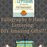 Calligraphy Lettering: DIY Amazing Gifts!!!