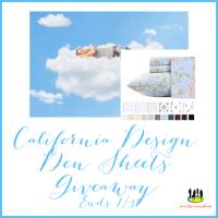 California Design Den Sheets Giveaway!