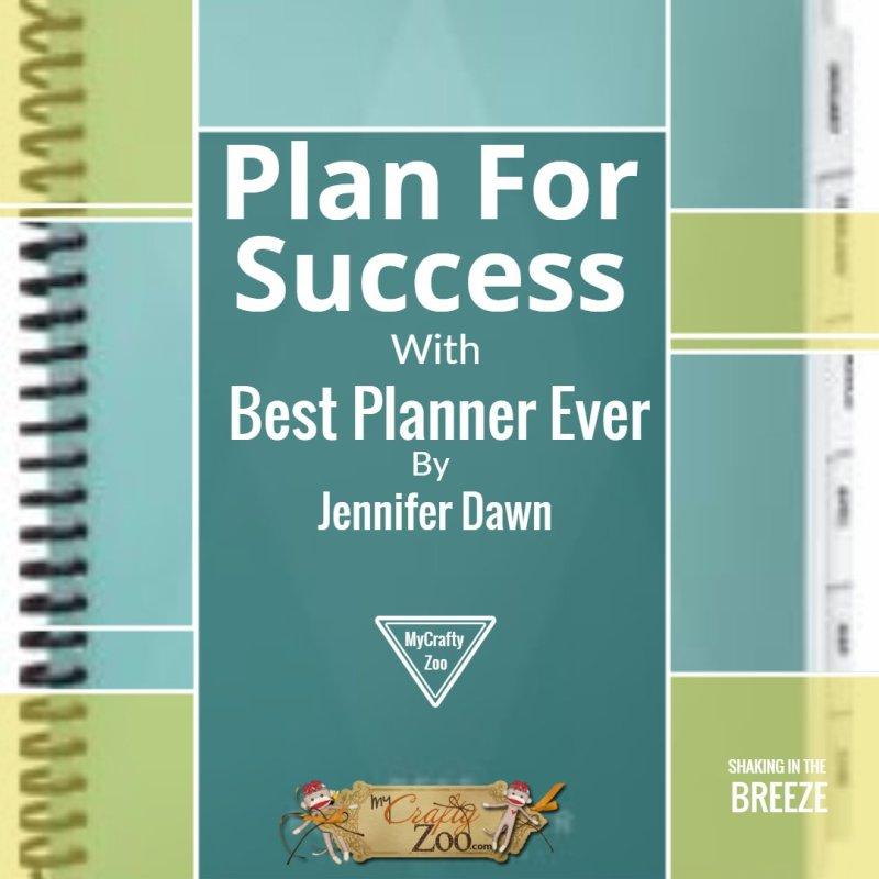 Plan For Success with Best Planner Ever @JenniferDawn8