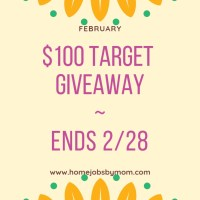 $100 Target Giveaway Ends 2/28