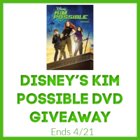 Disney's Kim Possible DVD Giveaway #SMGurusNetwork