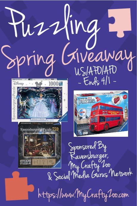 Puzzling Spring Giveaway