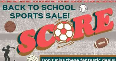 Sports Sale: Back to School Here We Come!