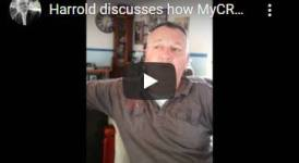 Harrold discusses his success with MyCRA Lawyers credit repair specialists | call now on 1300 667 218