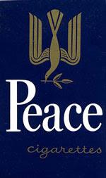 peace cigarettes