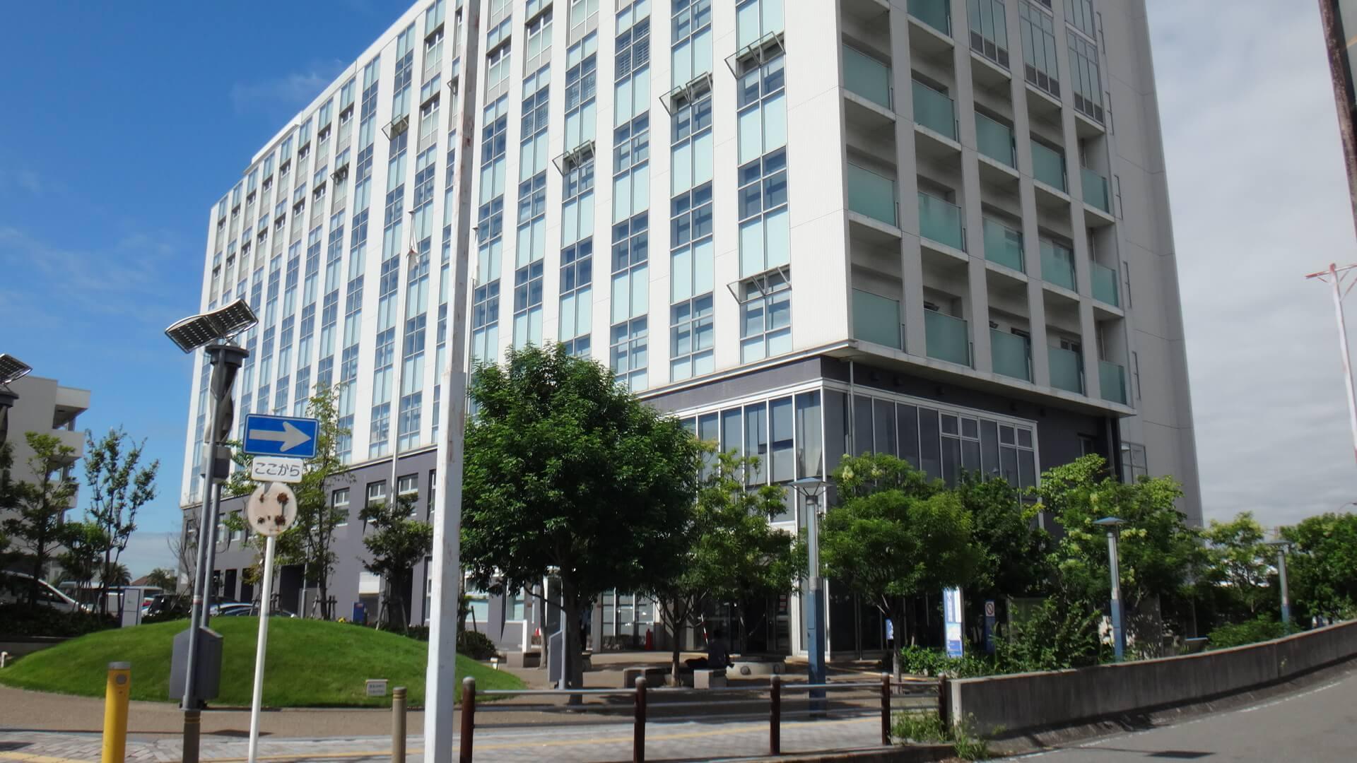 Les bureaux de l'immigration à Osaka.