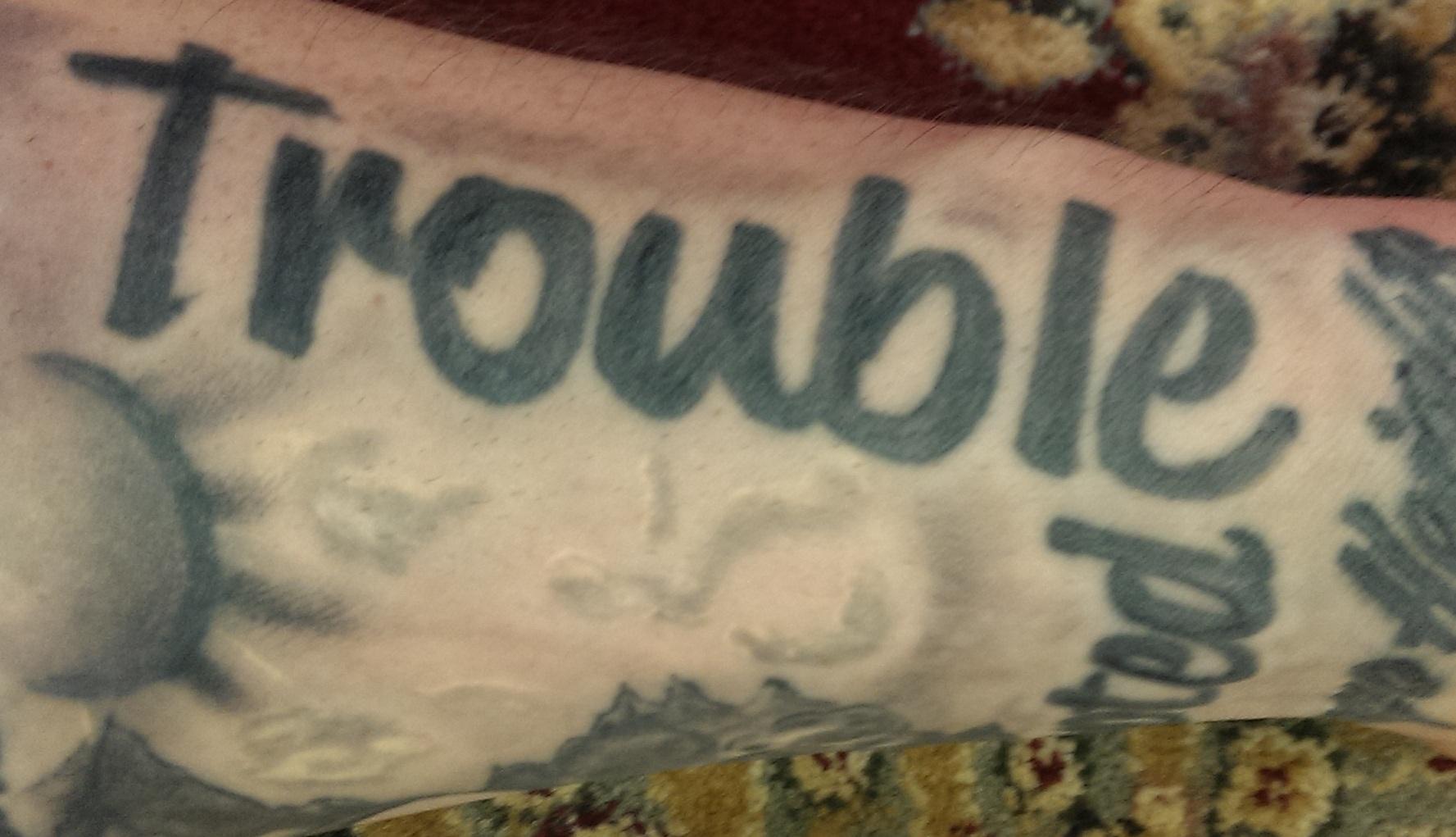 Trouble Tattoo