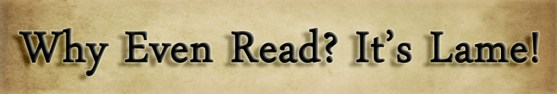 why should I read books