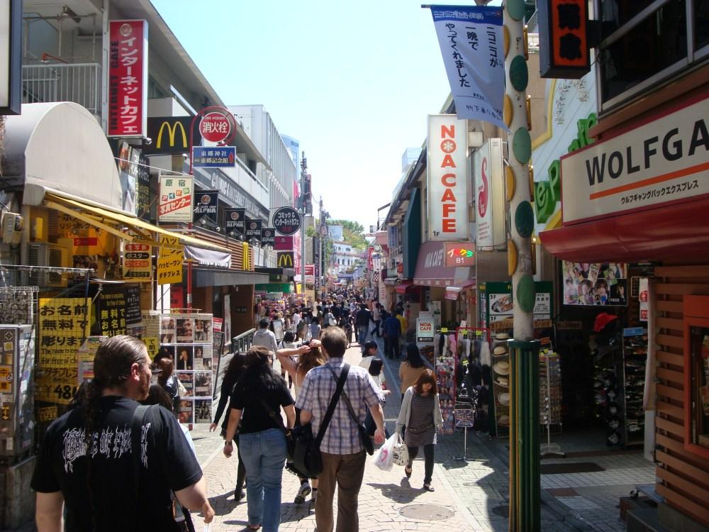 Harajuku, Shibuya and a Visual Kei Live (4/6)