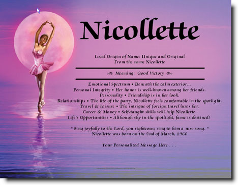Personalized Ballerina Gifts