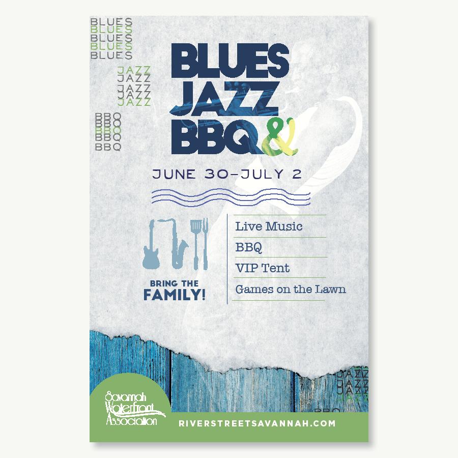Posters | Blues Jazz BBQ
