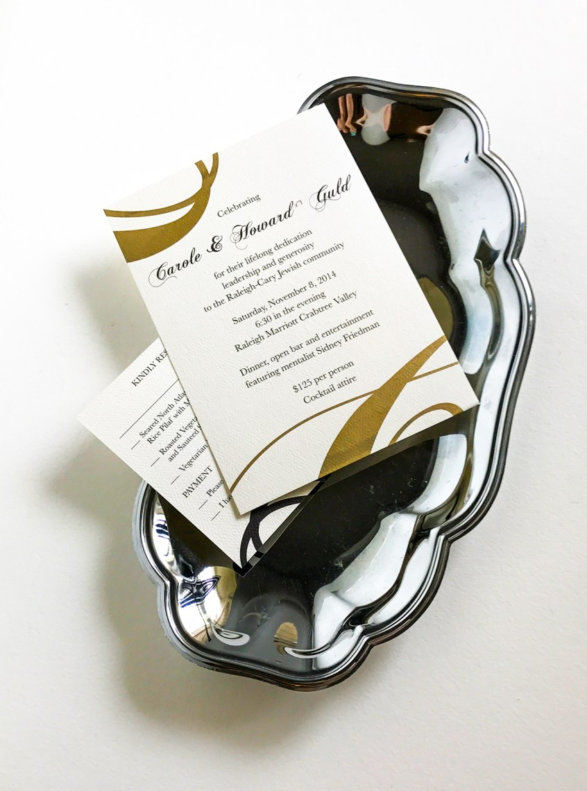 Invitation & Response Card