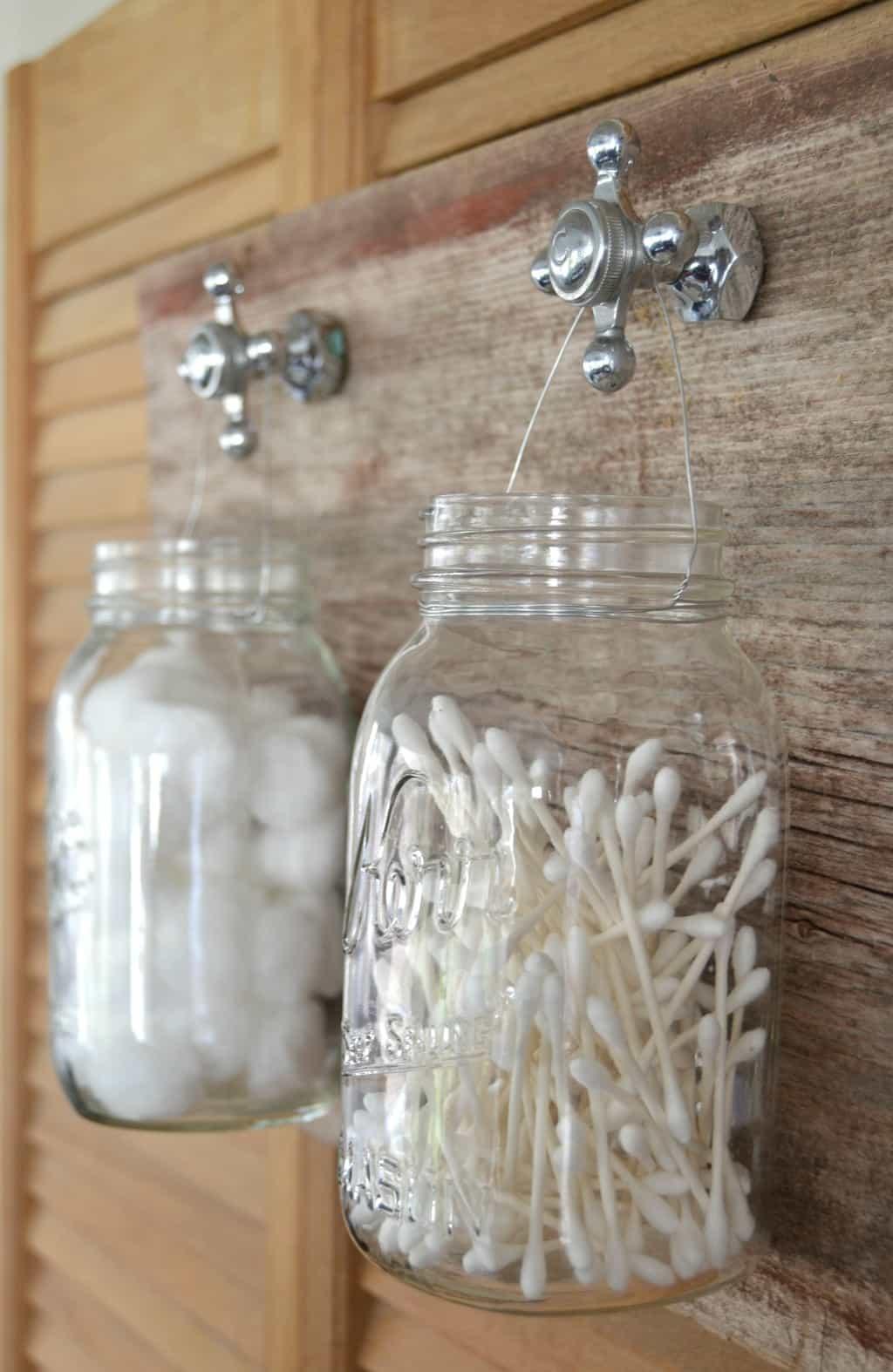 DIY Recycled Bathroom Organizer My Creative Days