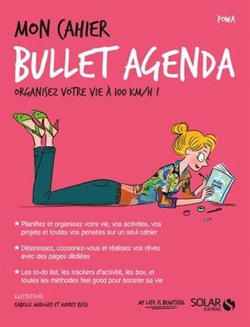 mon cahier bullet agenda developpement personnel