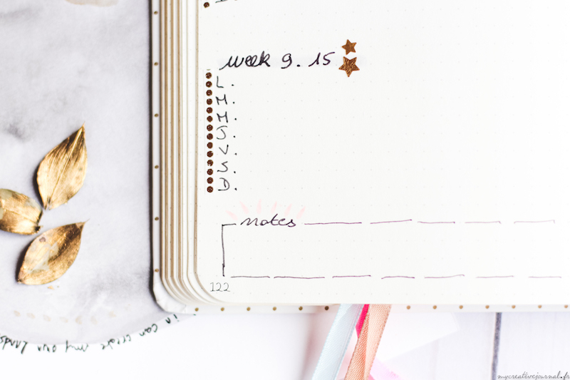 plan withe me octobre bullet journal agenda mensuelle