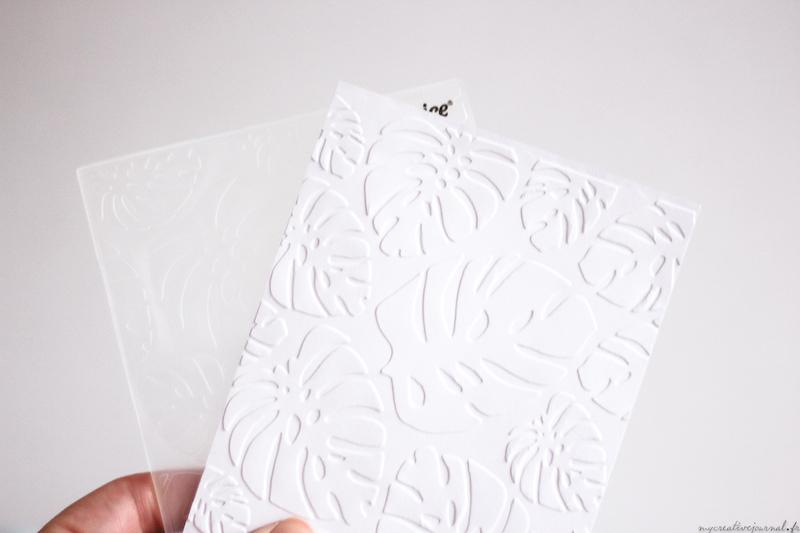 comment mettre relief sur papier embossage machine