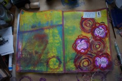 Art journal process 7a