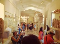 At the museum in at Epidavros